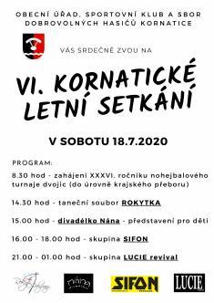 VI. Kornatické letní setkání 20201