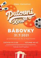 Putovní kino Bábovky plakát